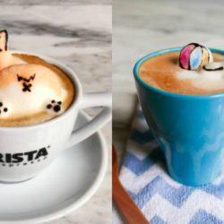 17χρονη πηγαίνει την τέχνη του καφέ σε άλλο επίπεδο με τις δημιουργίες