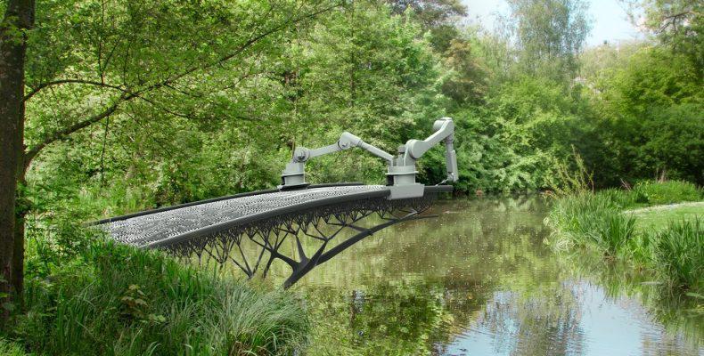 Στην Ολλανδία η πρώτη… εκτυπωμένη γέφυρα από μπετόν!