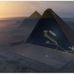 """""""Μεγάλο κενό"""" εντόπισαν επιστήμονες στην Πυραμίδα του Χέοπα"""