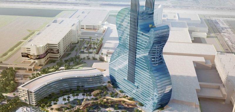 Ένα ξενοδοχείο σε σχήμα κιθάρας!
