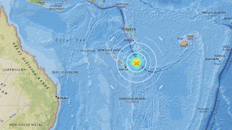 Σεισμός 7 Ρίχτερ στον Ειρηνικό – Κύματα τσουνάμι έχουν παρατηρηθεί
