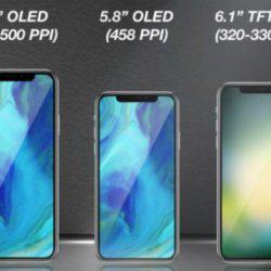 Η Apple ετοιμάζει 3 smartphones με το design του iPhone X