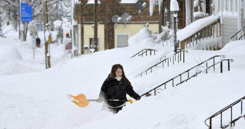 Πενσυλβάνια ΗΠΑ: Ολόκληρη πόλη θάφτηκε κάτω από τόνους χιονιού