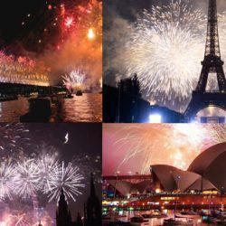 Πρωτοχρονιά σε όλο τον κόσμο
