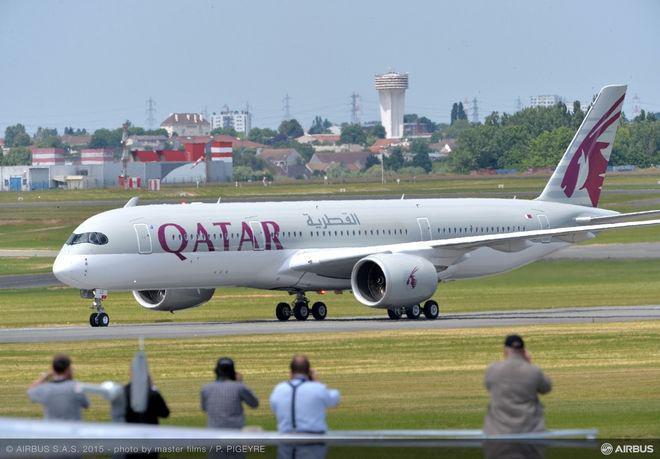 Η Qatar φέρνει το ολοκαίνουργιο Α350 στην Αθήνα