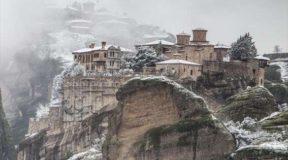 Απόδραση στη χιονισμένη Ελλάδα (pics)
