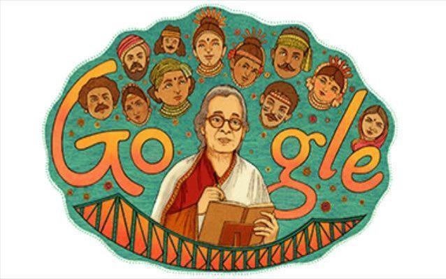 Mahasweta Devi: H Google τιμά τη διάσημη Ινδή συγγραφέα