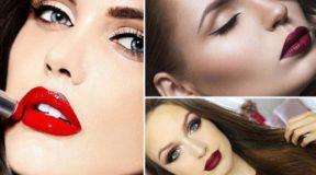 36 ιδέες για μακιγιάζ με κατακόκκινα χείλη ανάλογα με το χρώμα των μαλλιών σας (ΦΩΤΟ)