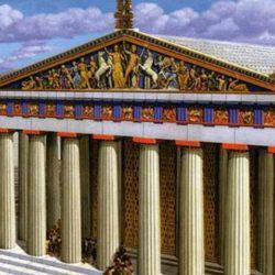 """Το BBC υμνεί την ελληνική Τέχνη - """"Έτσι θα ήταν με χρώματα ο Παρθενώνας στον Χρυσό Αιώνα"""""""