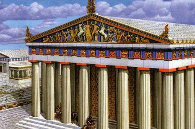 """Το BBC υμνεί την ελληνική Τέχνη – """"Έτσι θα ήταν με χρώματα ο Παρθενώνας στον Χρυσό Αιώνα"""""""