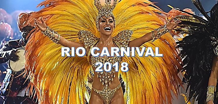 Καρναβάλι του Ρίο: Σέξι Βραζιλιάνες και ατέλειωτη σάμπα στο πιο ξέφρενο πάρτι του κόσμου