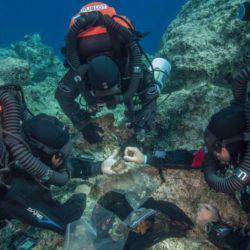 Νέες εντυπωσιακές φωτογραφίες από το Ναυάγιο των Αντικυθήρων