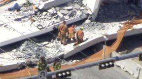Kατέρρευσε πεζογέφυρα στο Μαϊάμι – Πληροφορίες για νεκρούς