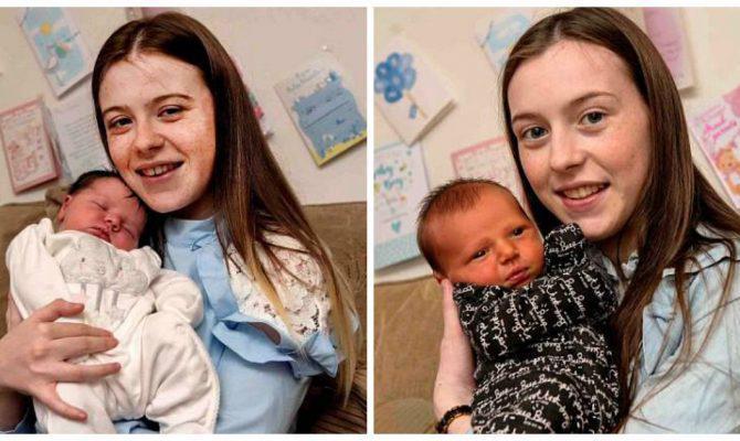 Νεαρές αδελφές ηλικίας 17 και 20 ετών γέννησαν την ίδια μέρα με διαφορά μόλις 5 ωρών