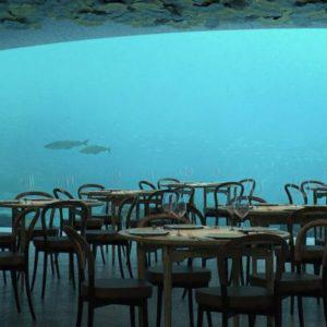 Το πρώτο υποβρύχιο εστιατόριο στην Ευρώπη!