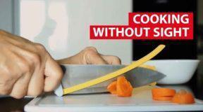 Νεαρός σχεδιαστής δημιούργησε εργαλεία μαγειρικής για τυφλούς (Video)
