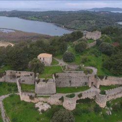 Το Κάστρο της Βόνιτσας επιβλητικό & αγέρωχο με όλη του την ομορφιά από ψηλά