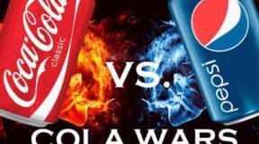 Η επική ιστορία του πολέμου ανάμεσα σε Coca Cola και Pepsi