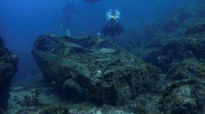 Το μεγαλύτερο υποβρύχιο νεκροταφείο κλεμμένων αυτοκινήτων στην Ελλάδα
