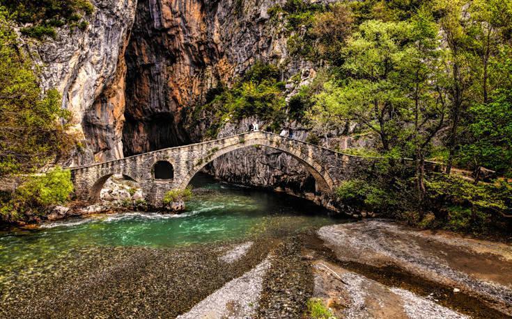 Γεφύρι της Πορτίτσας: Ένα μαγευτικό τοπίο στα Γρεβενά