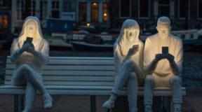 Το φωτεινό έργο τέχνης στο Άμστερνταμ που έχει κλέψει τις εντυπώσεις