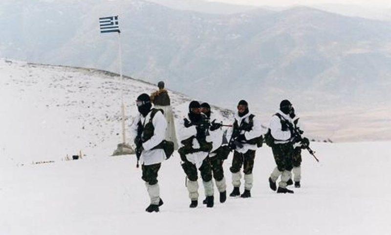 Έτσι εκπαιδεύονται οι Έλληνες χιονοδρόμοι καταδρομείς