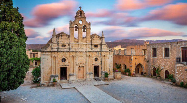 Μονή Αρκαδίου: Εκεί όπου η ομορφιά του μεσογειακού τοπίου γίνεται ένα με την Ιστορία της Κρήτης!