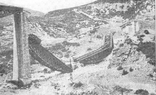 Η ανατίναξη της γέφυρας του Γοργοπόταμου