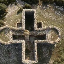 Το κάστρο με το σχήμα σταυρού που χτίστηκε στην τουρκοκρατία