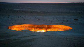 Η «πύλη της κόλασης» στο Τουρκμενιστάν