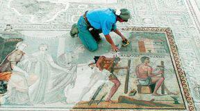 Ζεύγμα: Η αρχαία ελληνική πόλη με τα εκπληκτικής τέχνης ψηφιδωτά