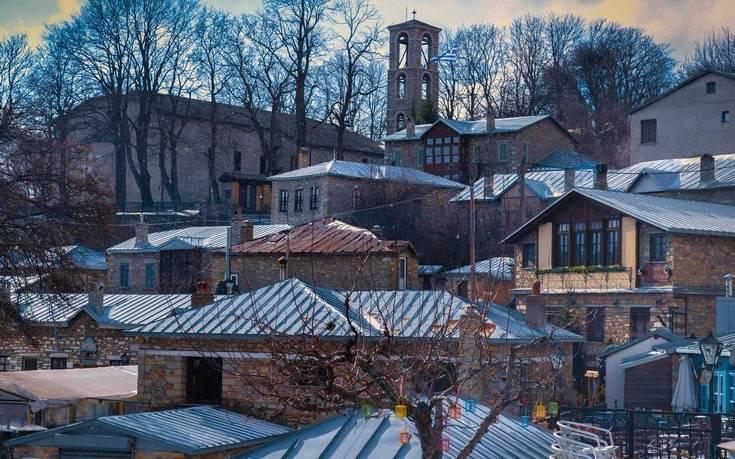 Νυμφαίο: Το ελληνικό χωριό που έχει ανακηρυχθεί ως ένα από τα ομορφότερα της Ευρώπης