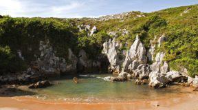 Playa de Gulpiyuri, μια παραλία χωρίς τη θάλασσα