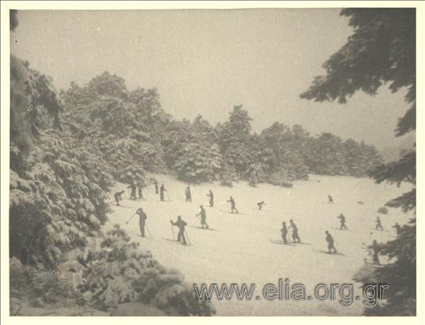 Το άγνωστο χιονοδρομικό στην Πάρνηθα