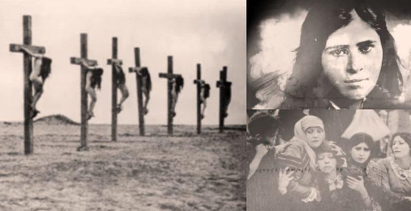To μαρτυρικό τέλος για χιλιάδες Αρμένισσες που τις παλούκωσαν και τις σταύρωσαν οι Τούρκοι