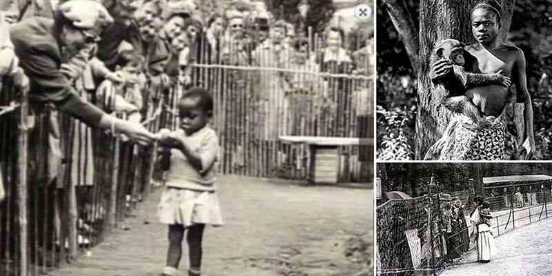 Στην «πολιτισμένη» Ευρώπη, κρατούσαν αφρικανούς ιθαγενείς μέσα σε κλουβιά, σε ζωολογικούς κήπους